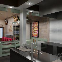 Hot Dog Bar Design