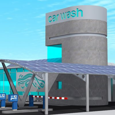 IWash Express building design