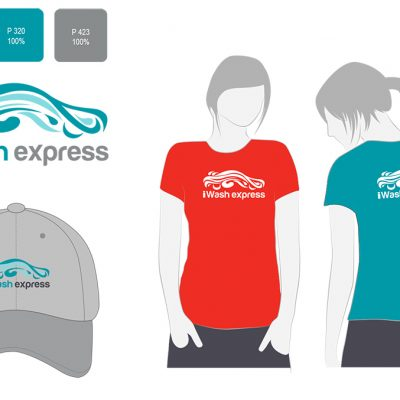 Car wash logo and branding