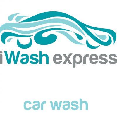 Car wash logo and cards design