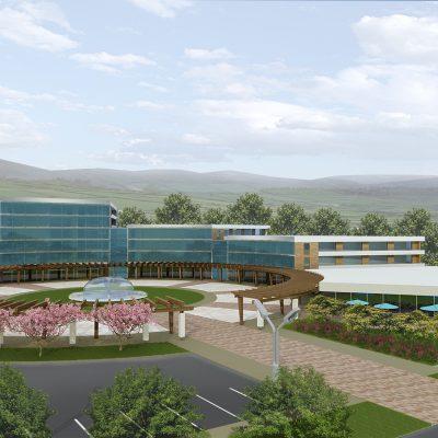 Juron, China, Jade Dragon hotel design concept