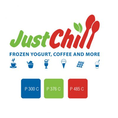 Yogurt shop logo design