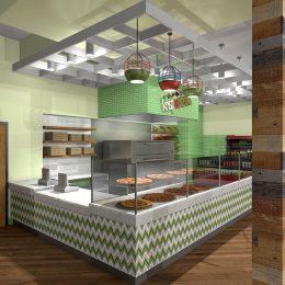 Pizza Restaurant Design
