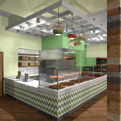 Pizza Restaurant Design