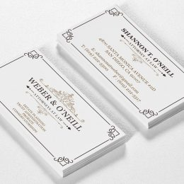 Law Office business cards design