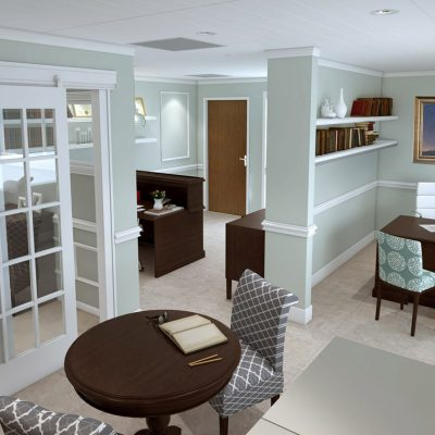 Law Office Interior Design