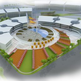 Juron, China, mall shopping center plaza design concept
