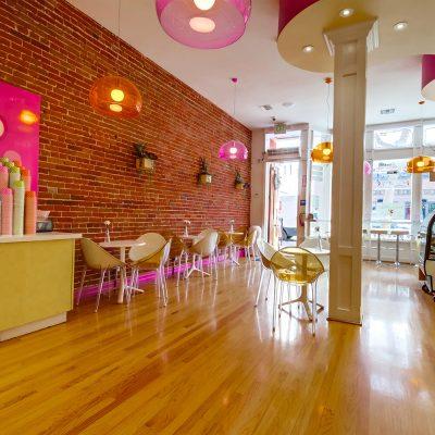 My Yogurt frozen yogurt shop interior design and branding