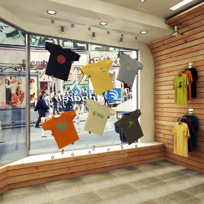 Pacific Apparel store design