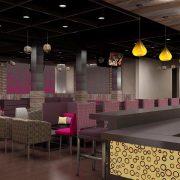 Hookah Lounge Interior design