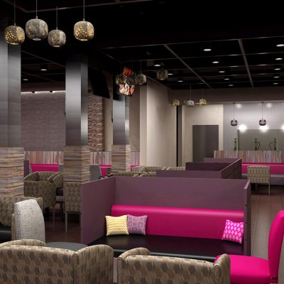 Hookah Lounge Interior design