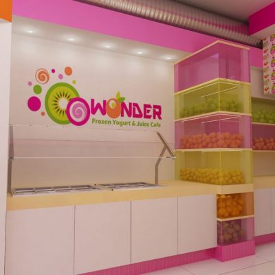 Frozen Yogurt and Juicing Bar