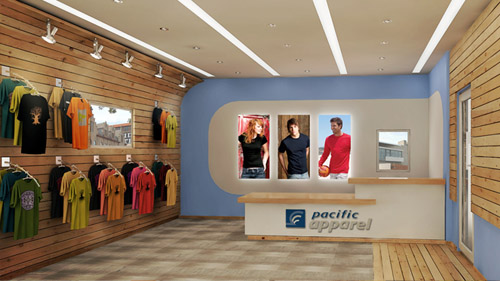 AFTER Pacific Apparels Proposed Interior Design