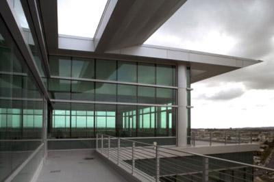 Sunroad Centrum Building exterior