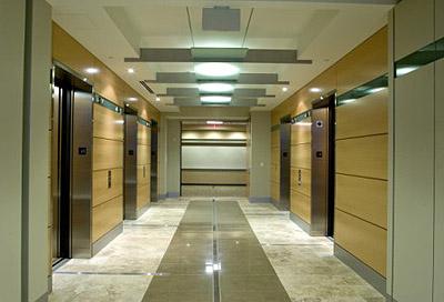 Sunroad Centrum Building interior