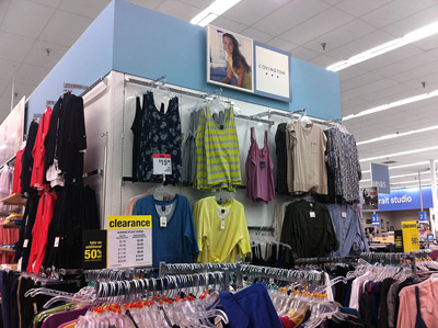 Store Interior Branding Analysis Sears Vs Target