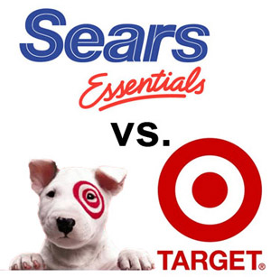 Sears and Target Stores