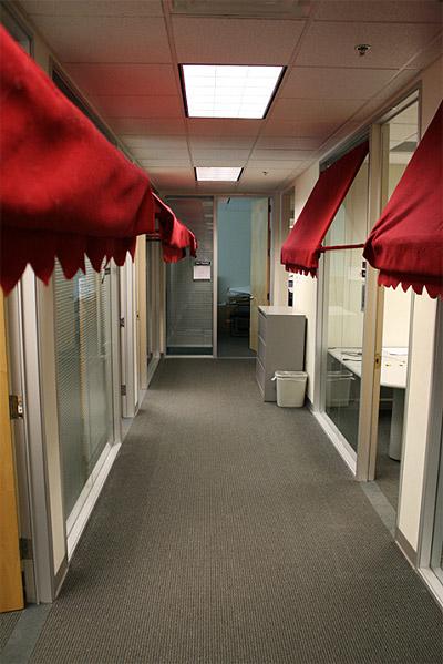 Office Design Corridor