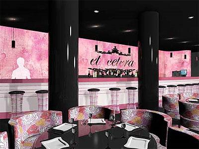 Restaurant Design Bar