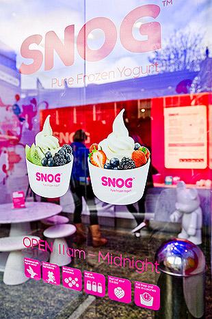 Yogurt Store Signage