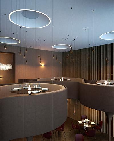 Restaurant Design Curves