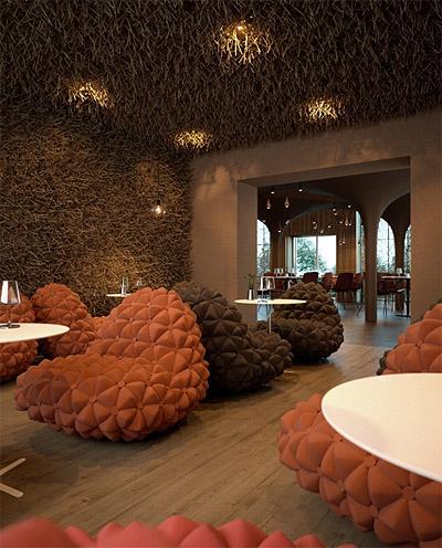 Interior Design Textures new whimsical restaurant design in ukraine - commercial interior