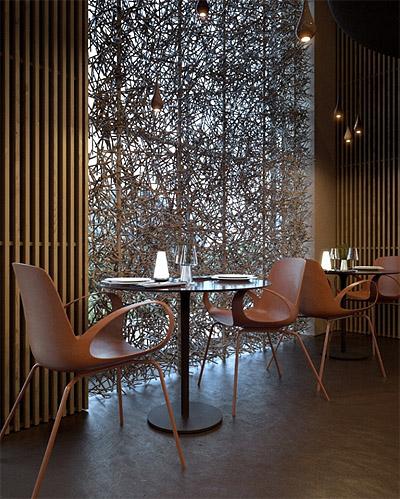 Restaurant Design Window