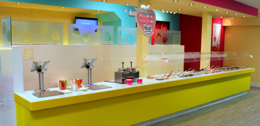Fresa frozen yogurt shop design
