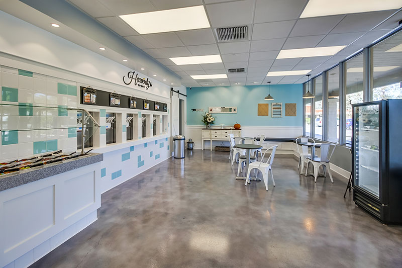 Heavenly Frozen Yogurt Shop Design