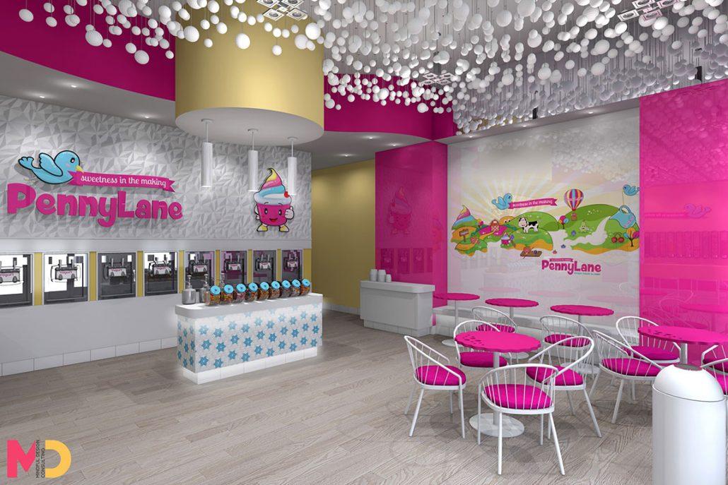Yogurt Shop Design Ideas