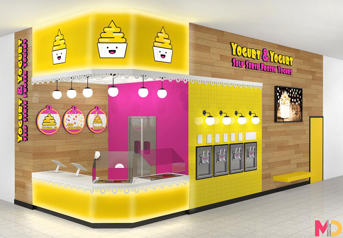 Dessert Shop Kiosk Design