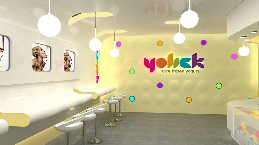 Frozen Yogurt Shop Design