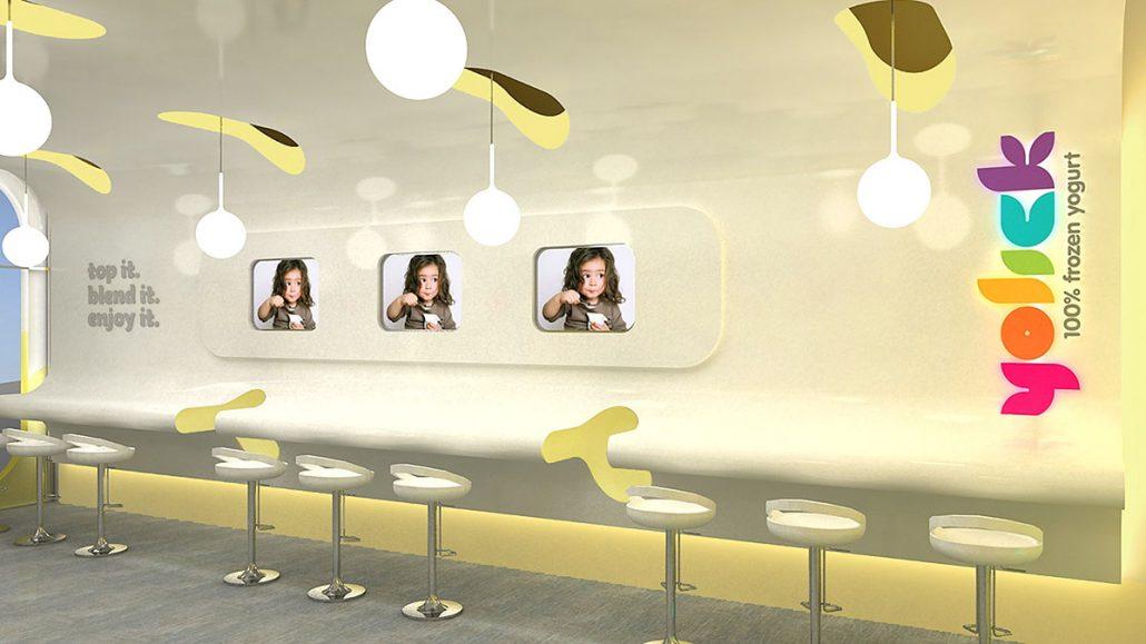 Dessert Store Interior Design