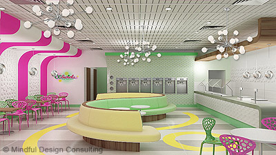 Yogurt Shop Interior Design Mindful Consulting