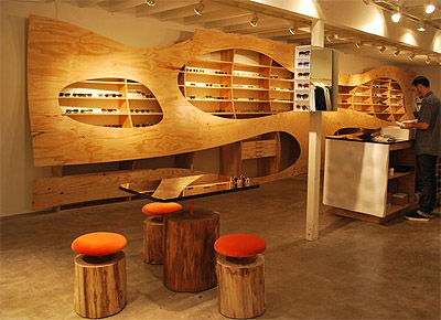 Fashion Boutique And Eyewear Store Concept Design Commercial Interior Design News