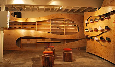 Fashion Boutique And Eyewear Store Concept Design