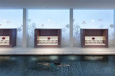 Hotel Design Pool Area