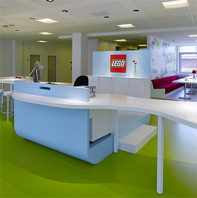 Bright Colors Office