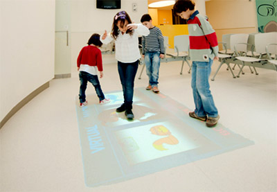 Interactive Architecture Touchscreen