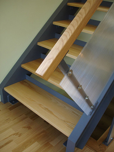 Contemporary Stair Rails