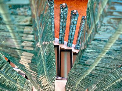 Creative Glass Stair Rails