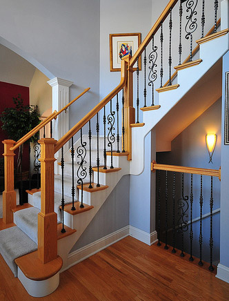 Traditional Stair Rails