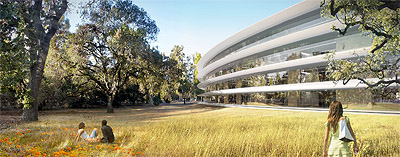 Apple Capertino Campus Design