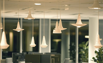 new slick light fixtures  commercial interior design news, Lighting ideas