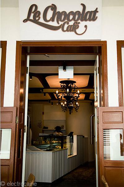 Cafe Entrance Design