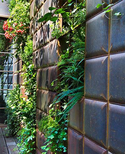 Vertical Garden Store Design