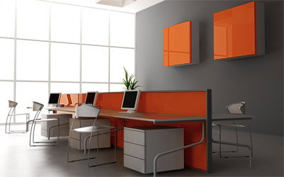 color of 2012 office interior partitions