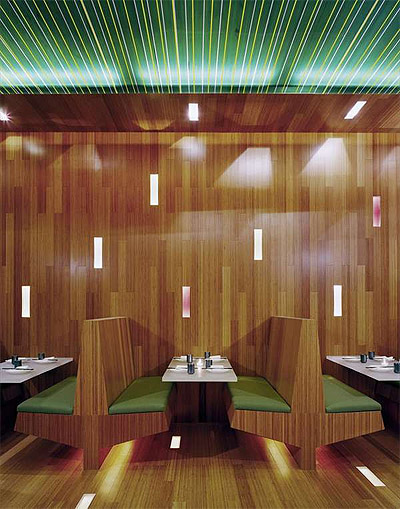 Eye Catching Interior Of A Chinese Restaurant In New York Restaurant Interior Design News