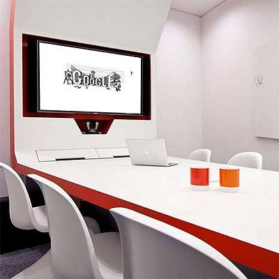 Google Office Interior Design London