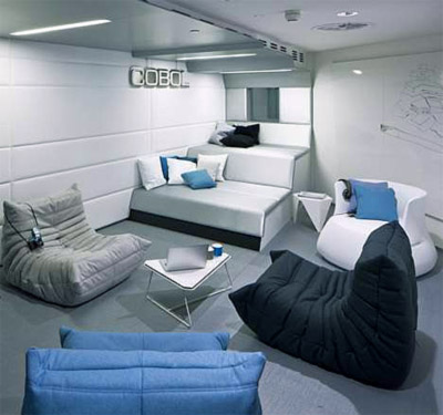 Google Office Design In London Commercial Interior